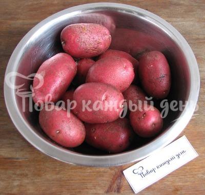 Такос с печеным картофелем, лечо и скрэмблом - рецепт пошаговый с фото